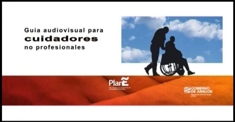 Resultado de imagen de Manual de apoyo para cuidadores no profesionales del Gobierno de Aragón.